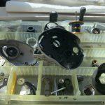 08メタニウムMGDC オーバーホール パーツ洗浄