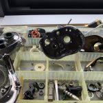 アンタレスDC7-LV オーバーホール 洗浄終了