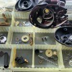 03スコーピオン クイックファイヤー オーバーホール修理 メンテナンス 洗浄完了