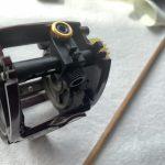 03スコーピオン クイックファイヤー メンテナンス:レベルワインド組み上げ