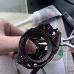 03スコーピオン クイックファイヤー メンテナンス:クロスギヤ軸組み上げ