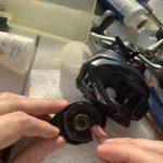16 カシータスMGL オーバーホール修理 スプールベアリング抜け止め欠損