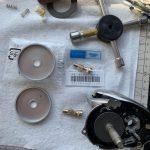 16メタニウムMGL HGオーバーホール修理 メインギヤ ピニオンギヤ
