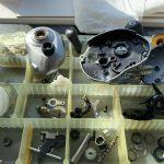 07メタニウムMg7 オーバーホールパーツ洗浄完了