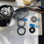 07メタニウムMg7 オーバーホール修理 ドラグ交換