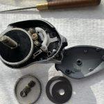 07メタニウムMg7 オーバーホール修理 内部パーツ搭載完了