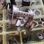 10カルカッタコンクエスト101DC オーバーホール修理:ボディ洗浄完了