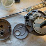 10カルカッタコンクエスト100DC オーバーホール修理:内部対応完了