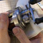 10カルカッタコンクエスト100DC オーバーホール修理:最終工程磨き
