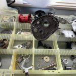 11スコーピオンDC オーバーホール修理:パーツ洗浄完了
