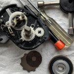 17エクスセンスDC オーバーホール修理:内部状況