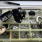 16アンタレスDC オーバーホール修理:完全分解 洗浄完了