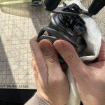 15メタニウム DC HG オーバーホール修理最終工程 :磨き上げ