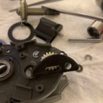 アンタレス RH220 クラッチレバー補修