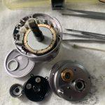04 カルカッタコンクエスト100DC 内部オーバーホール修理完了