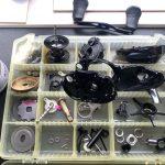 18 アンタレスDC MD XG オーバーホール パーツ洗浄1