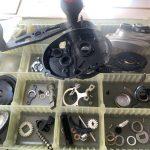 13 メタニウム HG オーバーホール パーツ洗浄完了完了