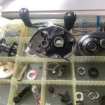 18 バンタム MGL HG オーバーホール パーツ洗浄完了