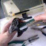 19 スコーピオン MGL 151 HG オーバーホール ボディ洗浄作業