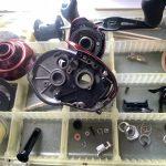 19 スコーピオン MGL 151 HG オーバーホール パーツ洗浄完了