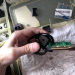 17 スコーピオン DC 100 HG ボディ洗浄作業