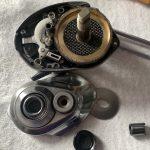 18 バンタム MGL HG オーバーホール ギア/ドラググリスアップ 内部オーバーホール修理完了