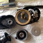 20 メタニウム HG オーバーホール ギア/ドラググリスアップ 内部オーバーホール修理完了