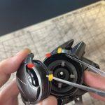 20メタニウム、18バンタムのエスケープハッチ取り付け方法